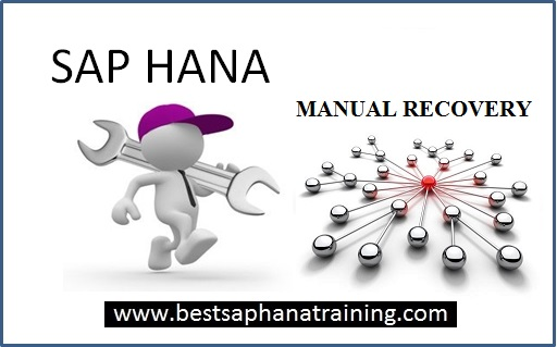 How to restore a sap hana database manually step by step?