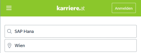 sap hana karriere