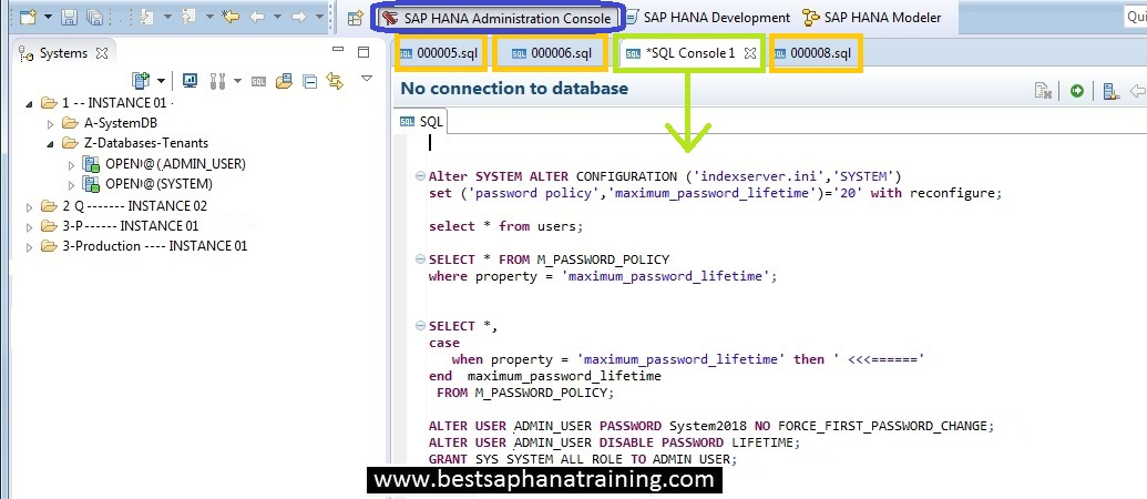 How to use sql syntaxes in Sap Hana? How to get SQL skills