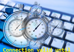 Set connection valid until