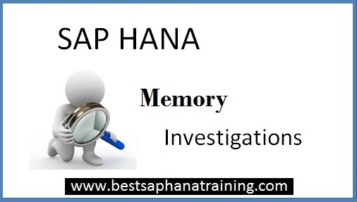 How to troubleshoot sap hana peak memory issues?