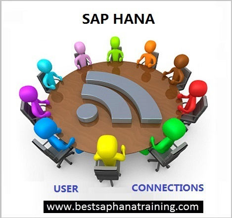 how to check sap hana user connexions
