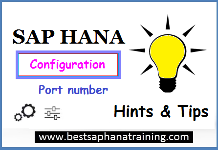 sap hana port number