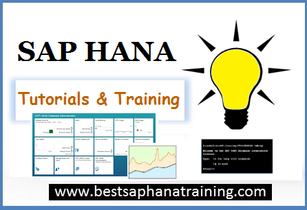 sap hana tutorials and training